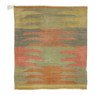 Turkish Kilim Rug - 3'3'' x 3'4''