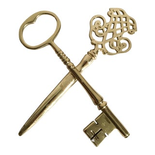 Virginia Metalcrafters Brass Letter Opener & Paperweight