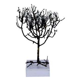 Brutalist Tree on Lucite Base