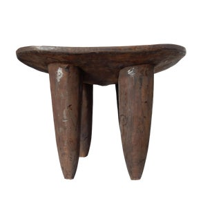 Senufo African Ivory Coast Stool or Table