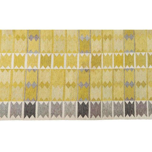 Vintage Ingrid Dessau Flat-Weave Swedish Carpet - Image 3 of 7