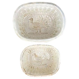 English Peacock Ironstone Molds - Set of 2
