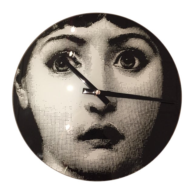 Image of Fornasetti Inspired Face Clock