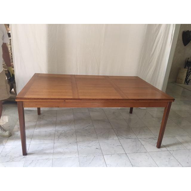 Vintage Ansager Danish Teak Extension Dining Table Chairish