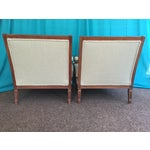 Image of Mid-Century Club Chairs - Pair