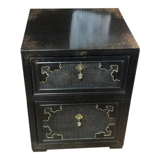 Vintage Asian Style Storage Table Cabinet