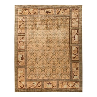 """Eclectic, Hand Knotted Area Rug - 8' 1"""" x 10' 2"""""""