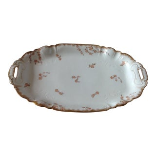 French Limoges Porcelain Serving Platter