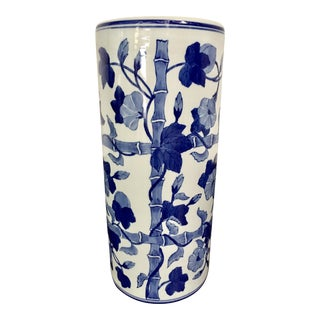Blue & White Export Umbrella Stand