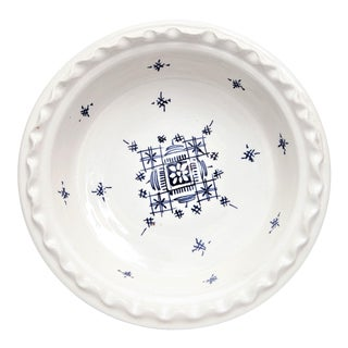 Small Moroccan Handpainted Coupe Plate