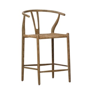 Traditional Woven Bar Stool