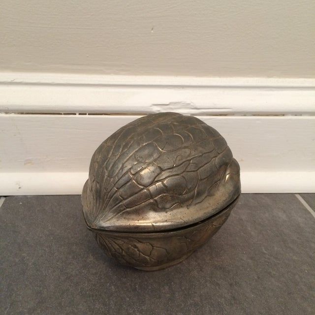 Image of Silver Walnut Canister
