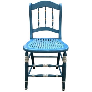 Suga Lane Vintage French Cottage Blue Child Chair