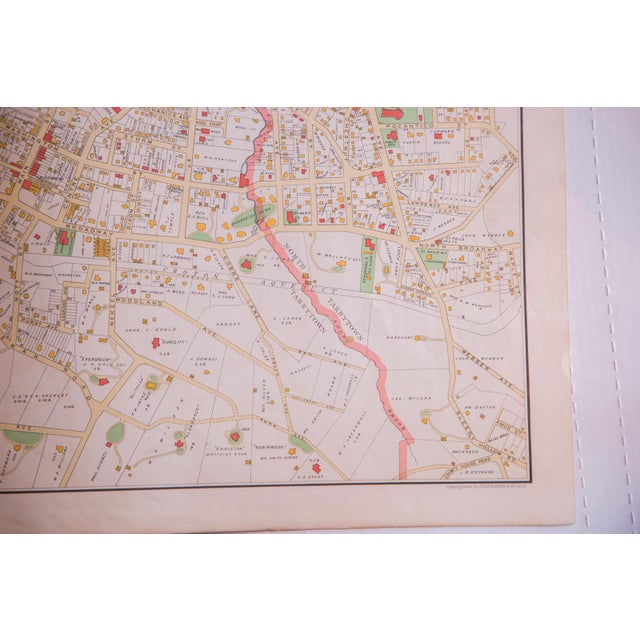 Antique Tarrytown New York Map - Image 5 of 5