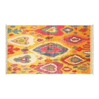 "Turkish Tulu Rug, 4'11""x8'9"""