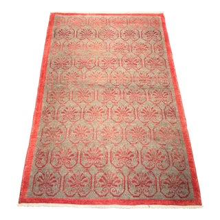 """Bellwether Rugs Soft & Thick Vintage Turkish Oushak Bath - 3'4"""" x 5'7"""""""