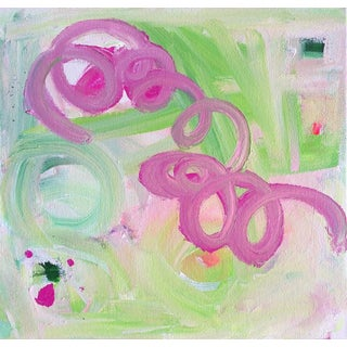 """Chiquita"" Original Abstract Painting by Linnea Heide"