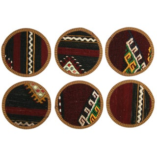 Kilim Coasters Set of 6 - Borçka