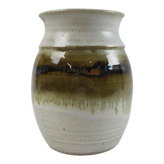 Hand-Thrown Studio Pottery Vase