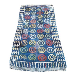 Handmade Swedish Rya Rug