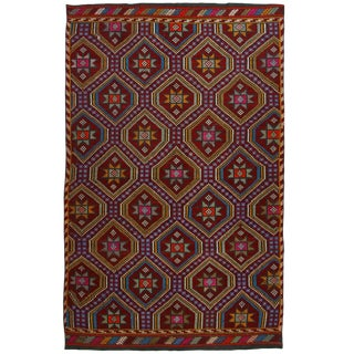 Vintage Cicim Kilim | 6' x 9'7 Turkish Flatweave