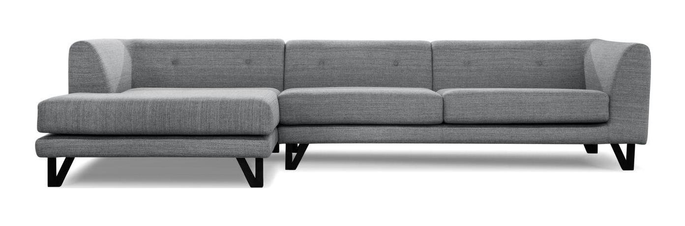 Sarreid LTD Bella Donna Gray Sectional Chaise  sc 1 st  Chairish : bella sectional - Sectionals, Sofas & Couches