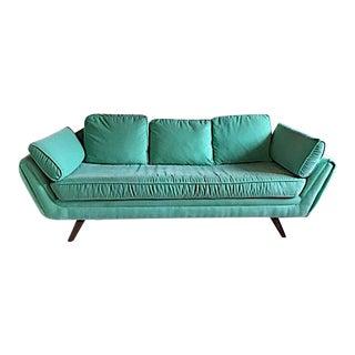 Turquoise Vladimir Kagan Sofa