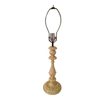 Shabby Chic Painted Lamp