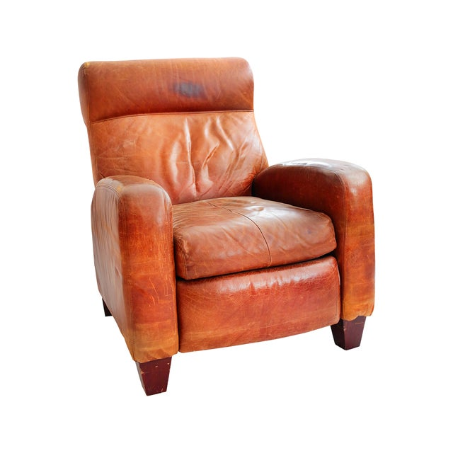 Image of Leather Barcalounger Recliner