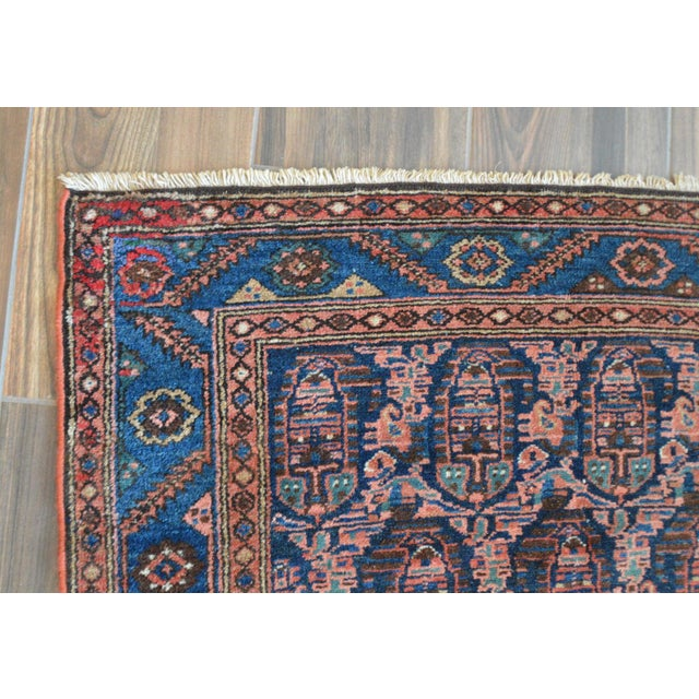 "Paisley Antique Persian Malayer Rug - 3'10"" X 6'4"" - Image 4 of 8"