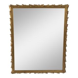 Antique Art Noveau Mirror