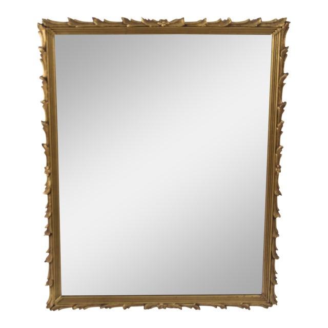 Antique Art Noveau Mirror - Image 1 of 9