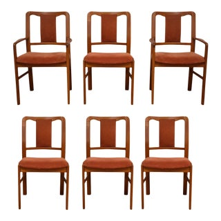 Teak Danish Dining Chairs - Set of 6