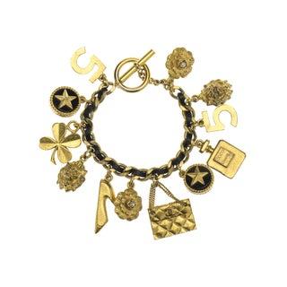 Chanel Vintage Gold Chain Bracelet