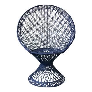 Mid-Century Modern Russel Woodard Peacock Chair
