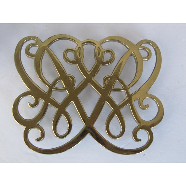 Brass Cypher Trivet - Image 2 of 4