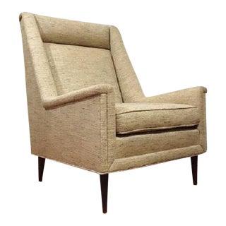 Milo Baughan Mid-Century Modern Wingback Chair
