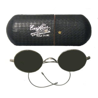 Antique French Spectacles & Case