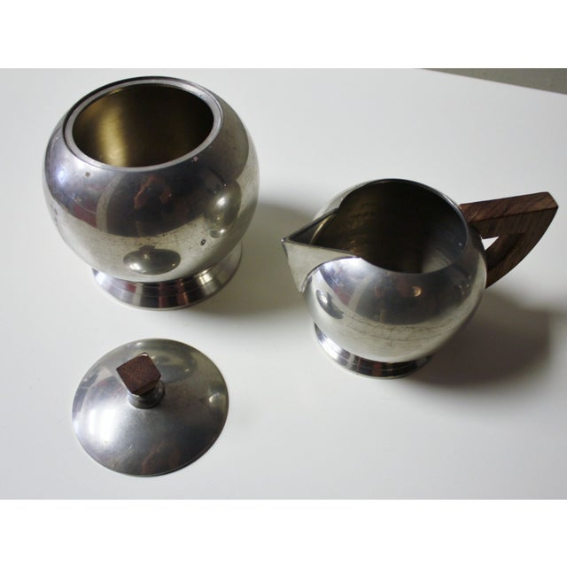 French Pewter Tea or Coffee Server - Image 5 of 7