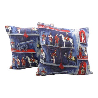 Toy Soldier Pillows - A Pair