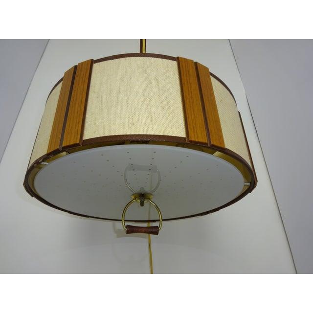 Danish Modern Gerald Thurston Adjustable Wall Lamp - Image 4 of 9