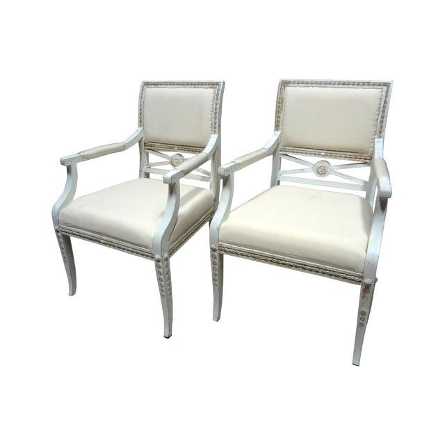 Swedish Armchairs - Set of 2 - Image 1 of 6