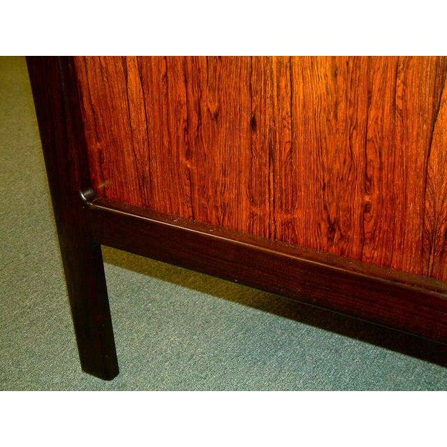 Arne Vodder Rosewood Executive Desk - Image 9 of 10