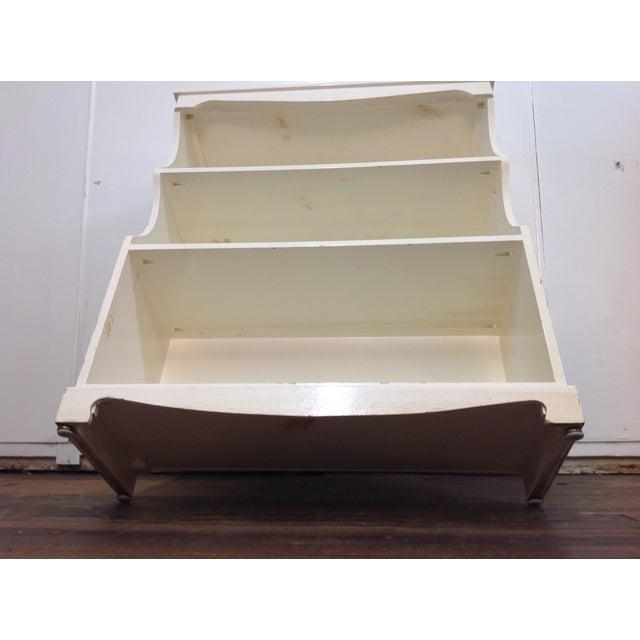 White Painted Pine Bookshelf - Image 8 of 9
