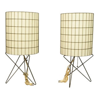 Paul Mayen Metal Lamps - A Pair