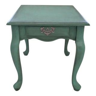 Modern Cottage Blue Side Table