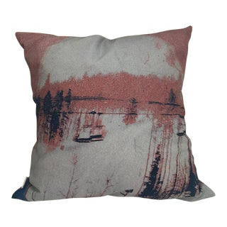 Upcycled Photorealism Pillow