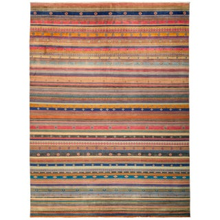 "Lori, Hand Knotted Area Rug - 9'2"" X 12'5"""
