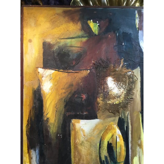 Image of Mixed Media Original Oil Painting