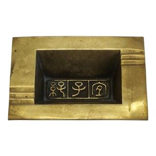 Figurative Motif Brass Catchall